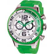 Montre Jet Set Chrono Ronde Verte J63283-11