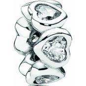 Charms Pandora Coeur Argent 791252CZ