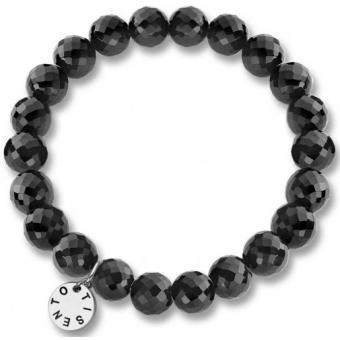 Bracelet Ti Sento 2670OZ - Bracelet Perles Noires Femme - Ti Sento