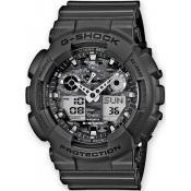 Montre Casio  G-Shock Noire Militaire GA-100CF-8AER - Homme