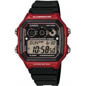 Casio - Montre Casio Collection AE-1300WH-4AVEF - Montre Noire