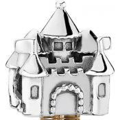 Charms Pandora Chateau Argent 791133PCZ - Conte de Fees