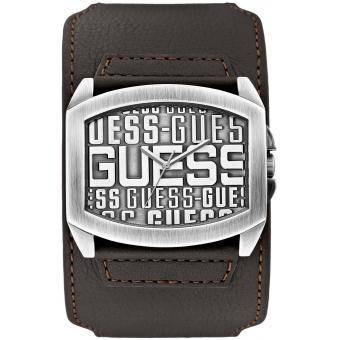 Montre Guess W0360G2 - Montre Cuir Marron Homme