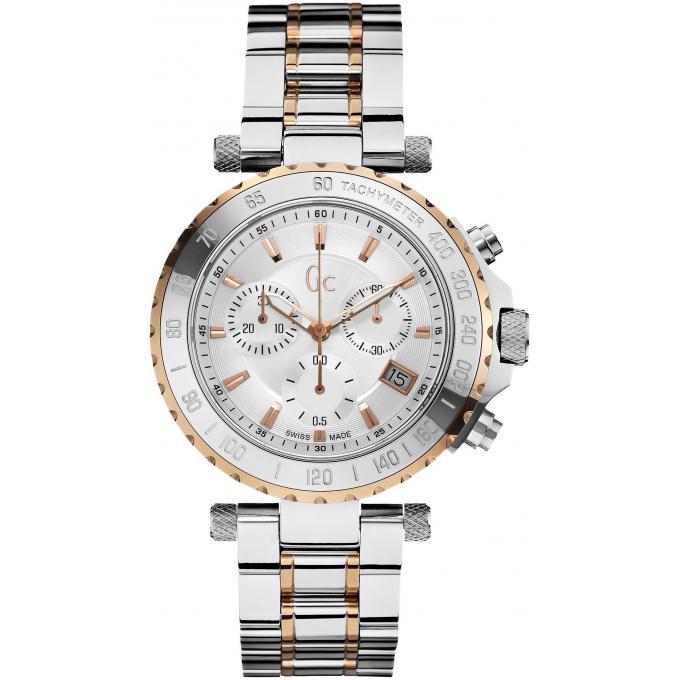 Montre gc x58002g1s montre acier bicolore homme sur bijourama montre homme pas cher en ligne - Acier s ...