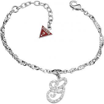 Bracelet Breloque Strass Argent - Guess - Guess