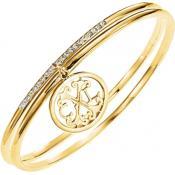 Bracelet Christian Lacroix Bijoux Strass Fin Doré X16167DZ