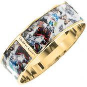 Bracelet Christian Lacroix Bijoux Large Papillons Doré X16182DW