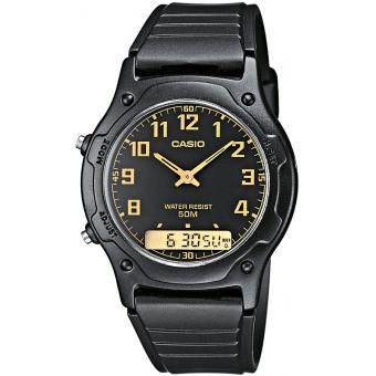 Montre Casio Acier Casio Collection AW-49H-1BVEF - Homme