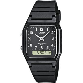 Montre Casio Résine Casio Collection AW-48H-1BVEF - Homme