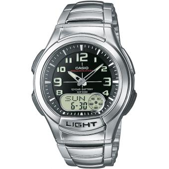 Montre Casio Acier Casio Collection AQ-180WD-1BVES - Homme