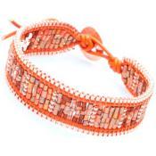 Bracelet Nakamol Or Orange Acier CBX1705_ORM