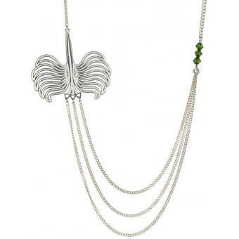 Collier et pendentif Multi-Rang Argent - Amélie Blaise - Amélie Blaise