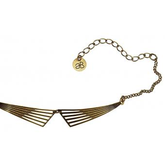 Bracelet Géométrique Bronze - Amélie Blaise - Amélie Blaise