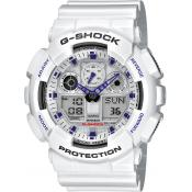 Casio - Montre Casio G-Shock Master of G GA-100A-7AER Mixte - Montre en Plastique Femme