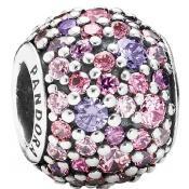 Charms Pandora Blue Fleur Rose 791261ACZMX