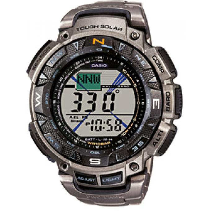 Montre casio titane pro trek prg 240t 7er homme sur for El centro motors quick lane