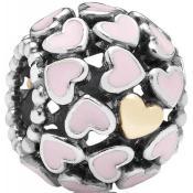 Charms Pandora Coeur Métal Argenté 791283EN40