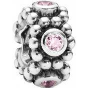 Charms Pandora Fleur Rose Argent 791122PCZ