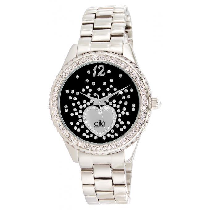 montre elite e53354 203 montre acier strass femme sur bijourama n 1 de la montre homme femme. Black Bedroom Furniture Sets. Home Design Ideas