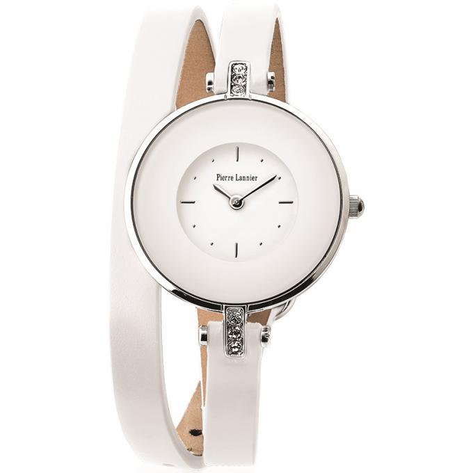 montre pierre lannier 121h600 montre double bracelet blanche femme sur bijourama n 1 de la. Black Bedroom Furniture Sets. Home Design Ideas