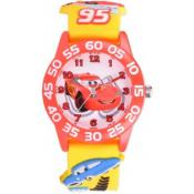 Montre Disney W001284-71711-3-E - Montre Cars Jaune Orange Enfant