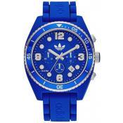 Montre Adidas Originals Bleu Blanche Chronographe ADH2930