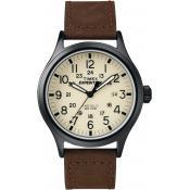 Montre Timex Cuir Marron Beige T49963D7