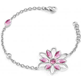 Bracelet Morellato SABK14 - Bracelet Fleur strass Argent Femme - Morellato