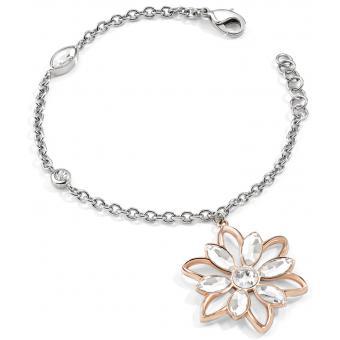 Bracelet Morellato SABK28 - Bracelet Fleur Bicolore Argent Femme - Morellato