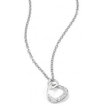 Collier et pendentif Morellato SKT07 - Collier et pendentif Infini strass argent Femme - Morellato