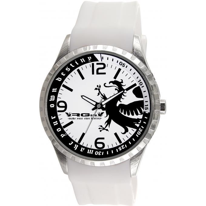 montre rg512 g50769 201 montre blanche argent blanche homme sur bijourama montre homme pas. Black Bedroom Furniture Sets. Home Design Ideas