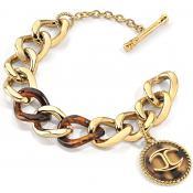 Bracelet Just Cavalli Bijoux Chic Métal Doré SCER04