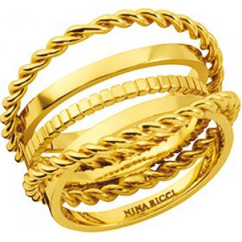 Bague Nina Ricci 70210830100 - Bague Dorée Chic Femme
