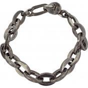 Ubu - Bracelet Ubu 100-30-MA - Bracelet Maillons entrelacés Argent Femme