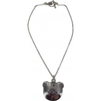 Collier et pendentif Ubu F1-372-MA - Collier et pendentif Argent Nounours Femme - Ubu