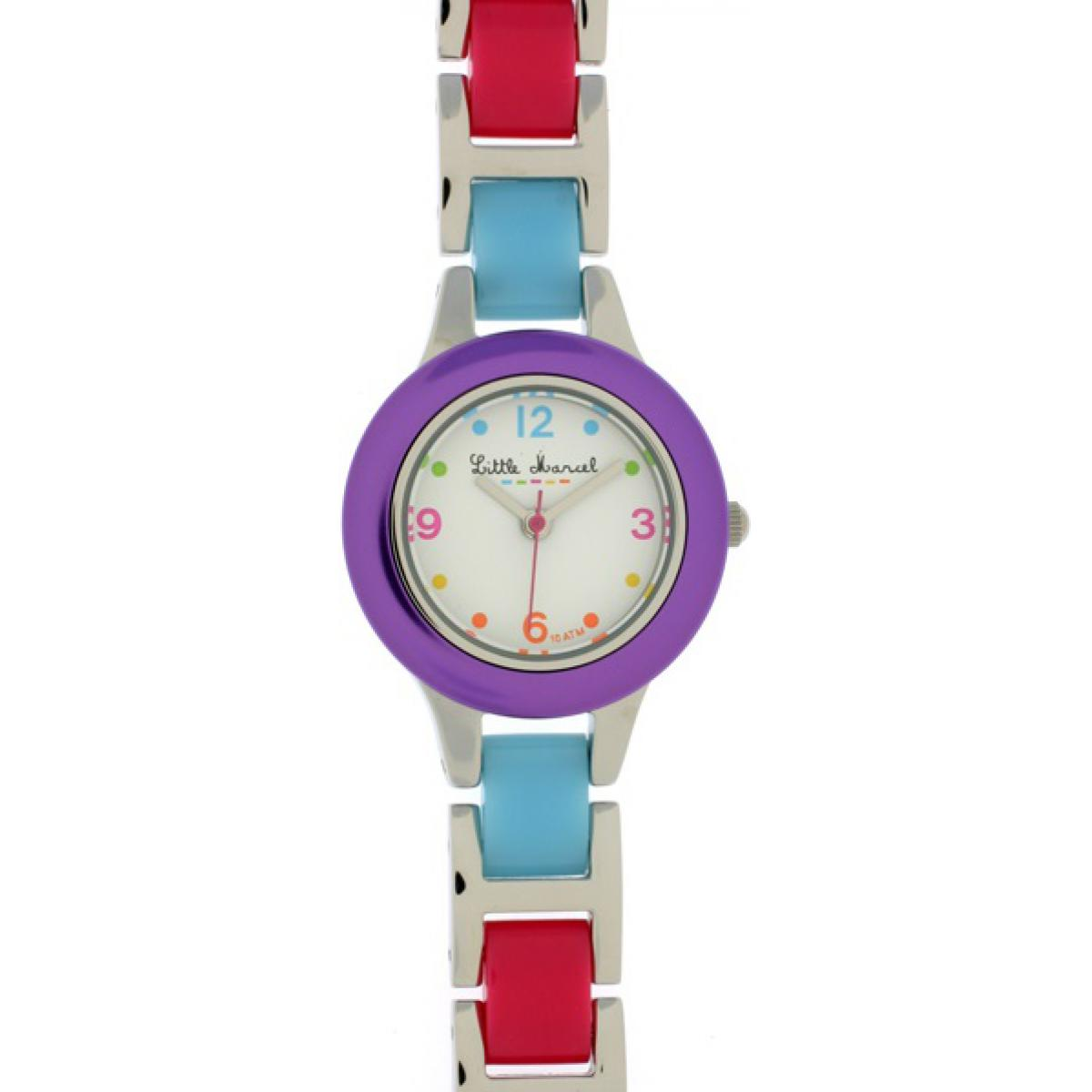 Montre Little Marcel LM04WTVLM - Montre Cadran Multicolore