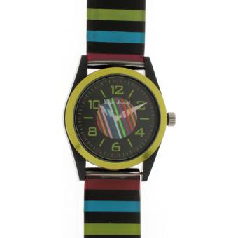 Montre Little Marcel LM11GNPUB - Montre Noire Multicolore
