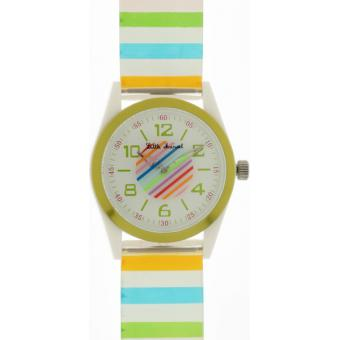 Montre Little Marcel LM11GNPUW - Montre Blanche Multicolore