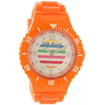 Montre Little Marcel LM23ORPU - Montre Orange Multicolore Femme