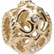 Charms Pandora Coeur Scintillant Ajouré 750466D - Charms