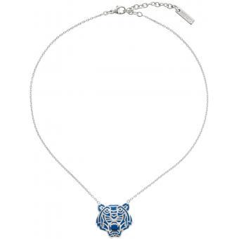 Collier et pendentif Kenzo 70202731102043 - Collier et pendentif Bleu Pendentif Tigre Femme Bleu Pendentif Tigre - Kenzo - Kenzo