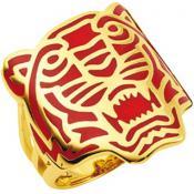 Bague Kenzo Bijoux Tigre Tendance Rouge 70202720101