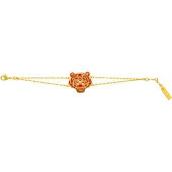 Bracelet Kenzo 70175310101180 - Bracelet Tigre Chaîne Doré Femme Tigre Chaîne Doré - Kenzo - Kenzo