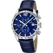 Montre Festina Cuir Bleue F16760-3