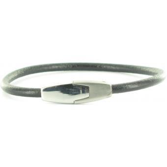 Bracelet Stahl Design 03598 5 - Bracelet Cuir Noir Homme