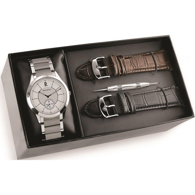 bracelet montre pierre lannier cuir. Black Bedroom Furniture Sets. Home Design Ideas