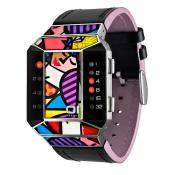 The One - Montre The One Art Edition SC123R1 - Montre Femme - Affichage Binaire