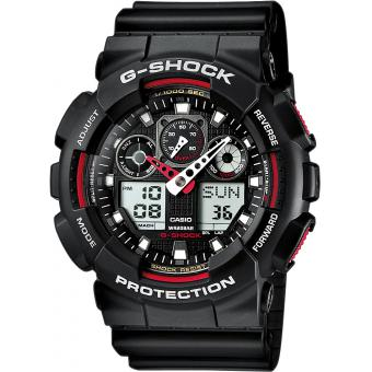 Casio - Montre Casio G-Shock Master of G GA-100-1A4ER Mixte - Montre casio etanche