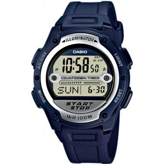 Casio - Montre Casio Collection W-756-2AVES - Montre Casio