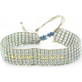 Bracelet L BY L AVARE PBRT5V-TRANSPARENT - Bracelet Transparent Mode Jeune Femme